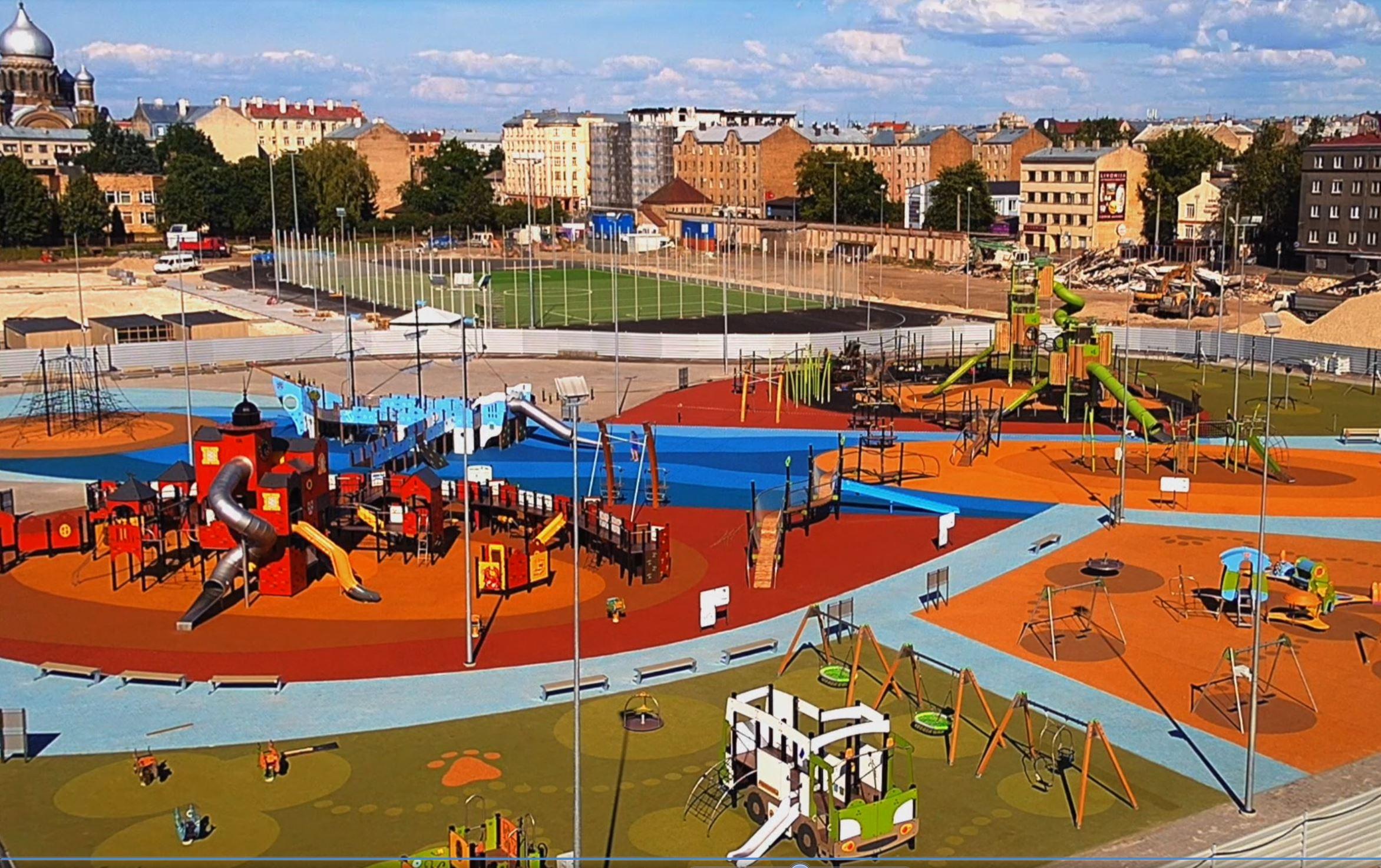 Rīgas centra sporta kvartāls